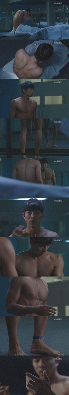 Gong Yoo's nude scene. (hott body!)