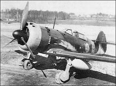 During WWII, Finland developed a fighter to reduce their dependence on foreign manufacturers and licenses.  The V.L. Myrsky wasn't particularly successful, but it did fly and fight during the war (mainly against the Finns' former German allies).