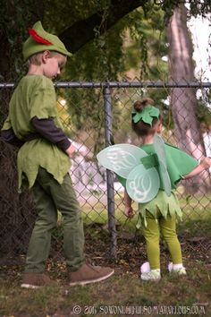 DIY Peter Pan Tinkerbelle Costume 126