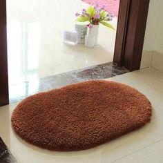 Anti-Skid bathroom carpet tapete Fluffy Shaggy Absorbent Area Rug Bedroom Floor Mat Door Mat doormat tapete para quarto banheiro