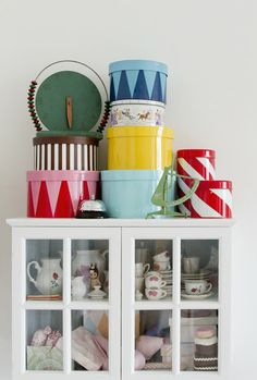 colourful storage for kids rooms
