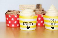 Hier gibt es sie, die leckeren Manner Cupcakes 🙂 Letztes Wochenende wollte ich… Cupcakes, Manners, Eat, Food, Cup Cakes, Cupcake, Cupcake Cakes, Meals, Muffins