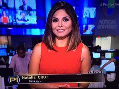 @NataliaCruzNews excelente reportaje @PrimerImpacto te ves muy bonita de rojo que tengas un lindo Jueves