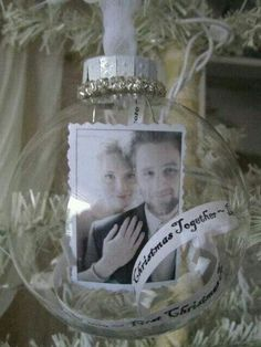 Wedding ornament with picture