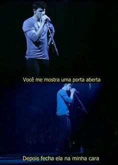 Shawn Mendes - Mercy Fela da P. Maybe Quotes, Broken Hearts Club, Sad Wallpaper, Magcon Boys, Dear Diary, Sad Girl, Pop Singers, Greys Anatomy, Psicologia