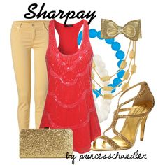 """Sharpay Evans"" by princesschandler on Polyvore"