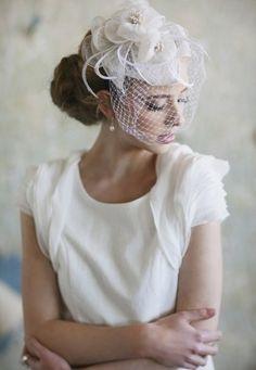 brides of adelaide magazine - fascinator - bridal hairpiece - wedding accessories Bridal Fascinator, Bridal Hat, Bridal Headpieces, Wedding Fascinators, Wedding Hats, Wedding Veils, Wedding Dress, Wedding Garters, Bridal Hairstyles