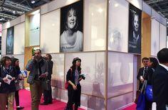 Provital Group Incosmetics 17 London stand 2. Exhibition design.
