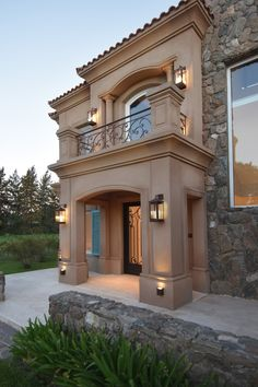 You can fix your home exterior design even if you do not have much money. In this article I am going to talk about the ways to improve your home exterior design. Appealing design will enhance the aesthetic values of… Continue Reading → Classic House Exterior, Rustic Exterior, Dream House Exterior, Exterior Design, House Front Design, Modern House Design, Door Design, Tuscan House, Mediterranean Homes