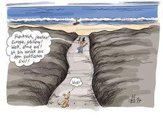 caricature Stuttmann #sarkozy Napoléon France réjouis toi Europe jubile Monde respire je rentre de mon exil