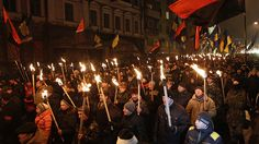 nazi demonstration ukraine