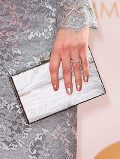 Emily Deschanel Nails for the 2013 Emmy Awards | SHEFINDS
