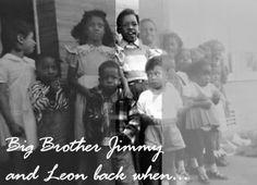 jimi striped shirt  with Leon white shirt