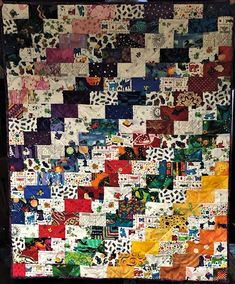 Scrap Republic: 8 Quilt Projects for Those Who LOVE Color by Emily Cier Booklet Modern Quilt Pattern Starbright Quilt Patchwork Scrappy Quilt Patterns, Scrappy Quilts, Easy Quilts, Mini Quilts, Bonnie Hunter, Amy Butler, Strip Quilts, Quilt Blocks, Quilting Projects