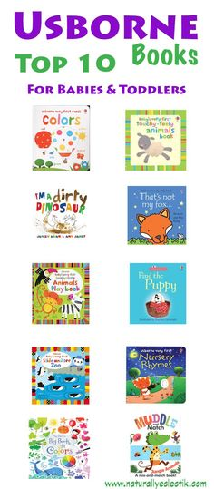 Top 10 Usborne Books for Babies