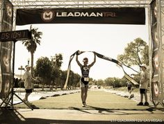Angela Naeth winning the Leadman.  She is off to a great year