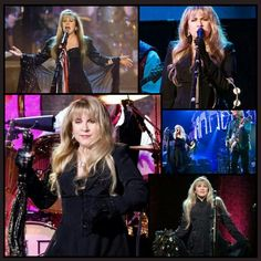 Stevie Nicks Collage Created By A Tisha 01/31/15