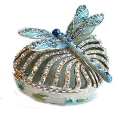 Faberge Style Dragonfly Box...I have one in orange tones & love it