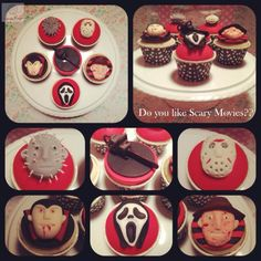 Do you like scary movies? - Cake by Suzie Bear Cakes