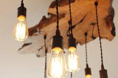 Olive Wood Live-Edge Light Fixture. от 7MWoodworking на Etsy