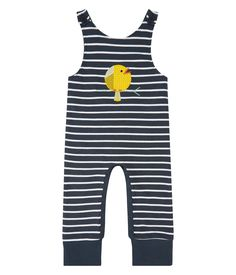 Sense Organics & friends in cooperation with GARY MASH - Striped jumpsuit with adjustable straps Striped Jumpsuit, Organic Cotton, Overalls, Rompers, Tops, Friends, Holidays, Fashion, Queen