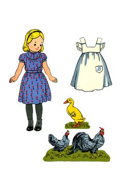 Bonnie and Debby Paper Dolls