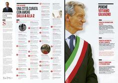 Depliant pieghevole realizzato per la Lista Civica che sostiene il candidato sindaco di Asti uscente Giorgio Galvagno
