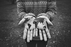 We could each hold the world in the palm of our hands, if we but only imagine how to do so.