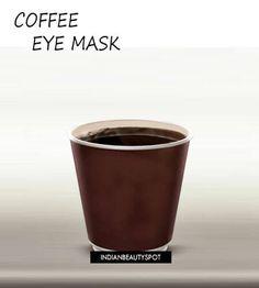Coffee Eye Mask to treat dark circles & Puffy eyes