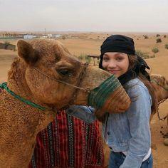 Maddie, in Dubai.