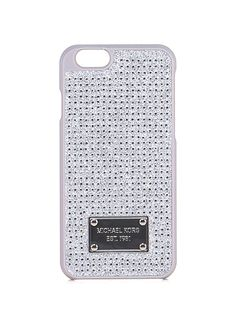 Michael Kors - Accessori - Accessori - Cover per smartphone iPhone 6 con strass. - CRYSTAL - € 50.00