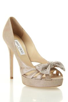 Shimmer Suede Pumps.