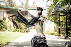 A Gorgeous Sotho Bride In A Stunning Xhosa Cape Dress African Traditional Dresses, Traditional Wedding Dresses, New Wedding Dresses, Designer Wedding Dresses, Wedding Attire, Amazing Weddings, Real Weddings, Wedding Blog, Wedding Tips