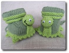 KNITTING PATTERNS FOR BABY BOOTIES - Patterns