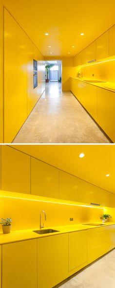 Uma cozinha amarela pode colorir o ambiente e encher a casa de luz - Ideias Diferentes