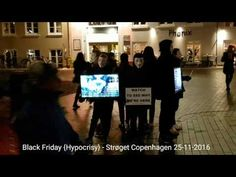 """Anonymous & IAMX 2016. Videoart about Black Friday/Fur Free Friday Demonstration & the LIVE ending of """"Oh Cruel Darkness Embrace Me"""" from London by IAMX. (#Keini #IAMX #Anonymous #OpNo2fur  #BlackFriday #FurFreeFriday)"""