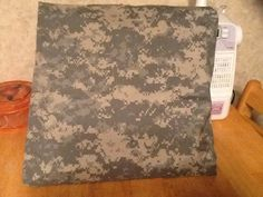 Hand-made Army Camo throw pillow by MawmaRosesCrafts on Etsy