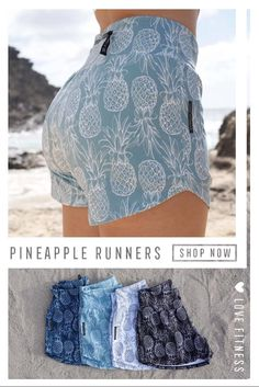 Comfy & Cute Pineapple Running Shorts for Summer Cute Comfy Outfits, Sporty Outfits, Summer Outfits, Fashion Outfits, Shorts For Summer, Ankara Fashion, 2000s Fashion, Fashion Today, Style Fashion