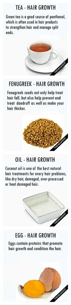 Top ten one ingredient hair growth and hair health remedies.