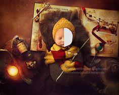 Digital Backdrops, Teddy Bear, Christmas Ornaments, Toys, Holiday Decor, Green, Unique, Handmade, Animals