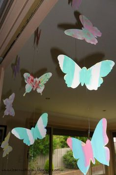 Making these for stars 8th birthday, butterfly surprise party!!