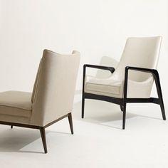 Modern Living Supplies: M|n Slipper Chair and Lounge Chair