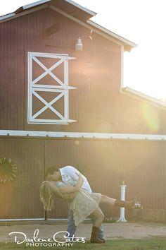 Engagement - Darlene Cates Photography - barn, rustic engagement