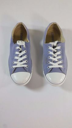 6f70a8093e9 Converse All Star Womens Size 7 Shoes Sneakers Lavender Purple Low Top   Converse  Comfort