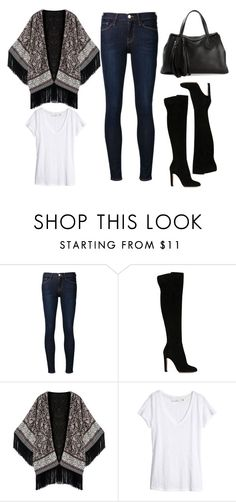 """""""2015/1186"""" by dimceandovski on Polyvore featuring Frame Denim, Gianvito Rossi, H&M and Gucci"""