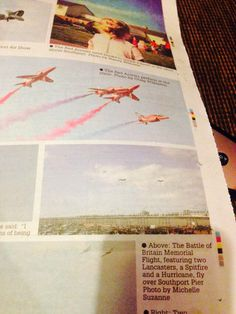 My photo in the local paper