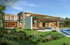 modern #home | Upper Primrose | Cape Town, South Africa | SAOTA