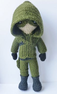 A doll based on Arrow. by LilKillerCuties on Etsy