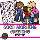 Morning Message Meet and Greet Poster - Editable Personal Relationship, Morning Messages, My Face Book, Special Promotion, Did You Know, Knowing You, How To Become, Encouragement, Classroom