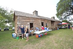 Claiborne Kyle Log Home is located in Kyle Texas. Claiborne Kyle was one of the first original settlers in the area.